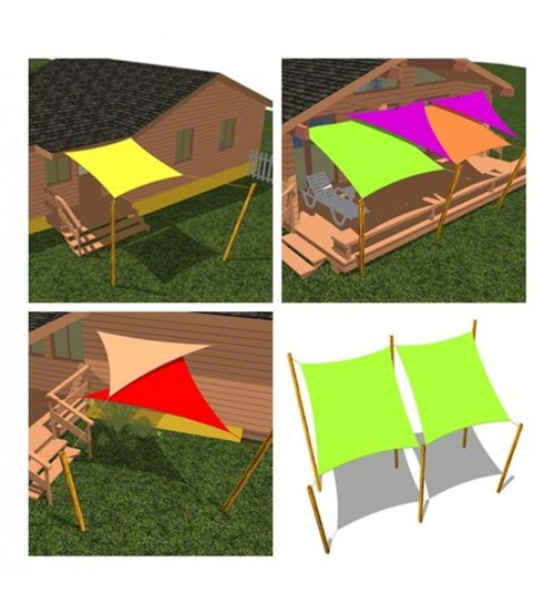 Cool Area Right Triangle Oversized 16 39 5 X 16 39 5 X 22 39 11 Sun Shade Sail Including Stainless