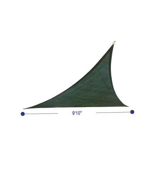 Cool Area Triangle 9 Feet 10 Inches Sun Shade Sail Uv Block Fabric Sail Perfect For Outdoor