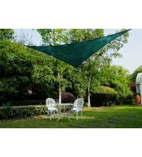 Cool Area Right Triangle 16'5'' Sun Shade Sail for Patio in Color Green