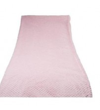 HS Coral Blanket Throw, Soft Bed Blankets, Honeycomb, Queen Size, Pink
