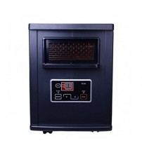Homeleader® IWH-07 Digital Infrared Quartz Heater 1000W with Remote control, black