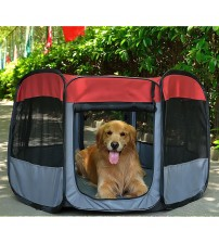 "Favorite 48"" Portable Outdoor Puppy Dog Playpen Foldable Indoor Kennel Crate - PET030800101"