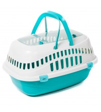 Favorite Top Load Portable Pet Small Animal Carrier Outdoor Short Trip Travel Vet Visit - PET090301601