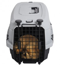 Favorite Airline Kennel Pet Carrier, Grey, S
