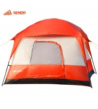 Semoo Waterproof 4-5 Person 2 Doors 3 Season Family Cabin Tent for Camping with Carry Bag, 2000mm