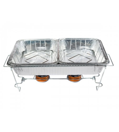 Party Food Warmers ~ Times full size buffet set includes aluminum pans food
