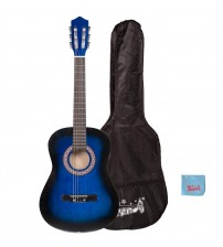 Trendy 36 Inch Classical Guitar(3/4 Size), Package, Basswood, Blueburst