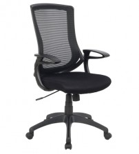 VIVA OFFICE® High-Back Black Mesh Adjustable Recliner Office Computer Chair-VIVA0569F