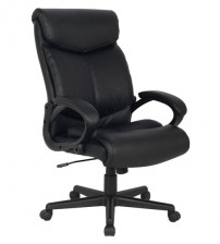 VIVA OFFICE® Latest Deluxe High-back Extra Thick Padded Black Bonded Leather Executive & Managerial Swivel Recliner Desk Computer Ergonomic Office Chair with Excellent Side Waist Support and Lumbar Support - VIVA06051