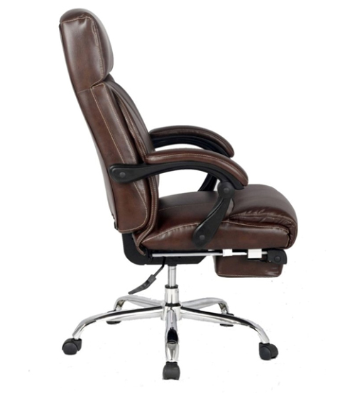 chair with footrest adjustable executive managerial office chair with