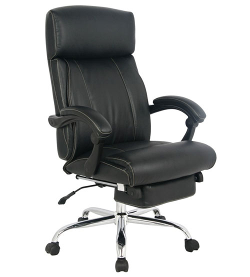 VIVA OFFICE® Latest High back ergonomic bonded leather recliner swivel napping chair, adjustable multifunction office chair Executive and Managerial Chair with padded headrest and armrest - VIVA 08501