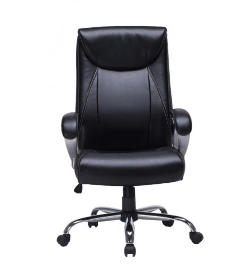 VIVA OFFICE High Back Task Chair, Bonded Leather Office Chair with Pneumatic Seat Height Adjustment - Viva1272