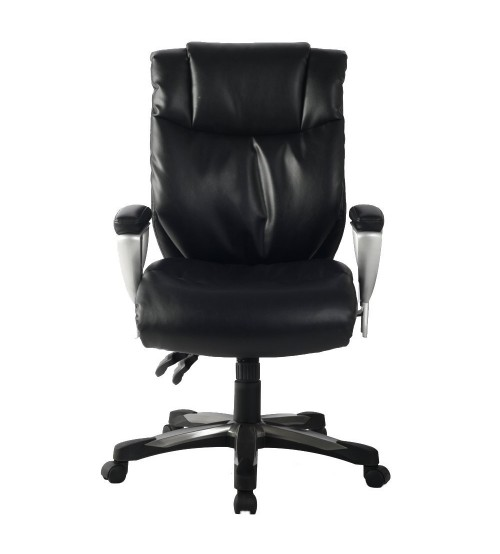 VIVA OFFICE High Back Bonded Leather Executive Chair with Adjustable Backrest and Armrest - Viva2358