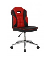 VIVA OFFICE Mid Back Bonded Leather Racing Car Style Task Chair Without Arms - Viva2682L