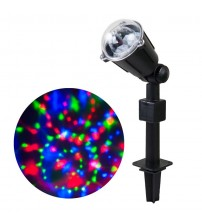 WED Laser Rotating Kaleidoscope Light Projectors, Waterproof Christmas Landscape Spotlight Projection LED Light Show for Indoor, Outdoor, Home, Garden, Wall, Party, Holiday Decoration WEDLLMTX3L3C
