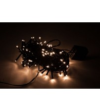 WED 33ft 100 Led String Lights, Warm White, 8 Mode Waterproof Fairy String Lights for Christmas Indoor and Outdoor Decorative WEDLPSL100LWW8M